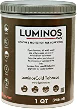 LuminosCold LUM1154 - Tobacco - Outdoor Wood Stain Finish Protector IR Reflective - Color Tobacco - Quart