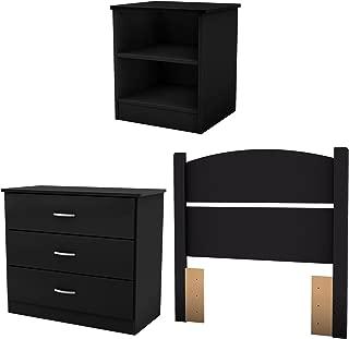 Best 4 piece black bedroom set Reviews