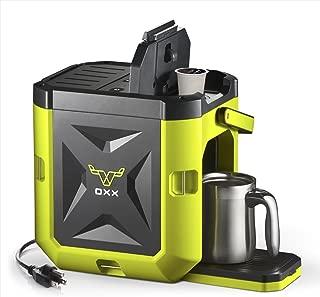 OXX COFFEEBOXX Job Site Single Serve Coffee Maker, Green