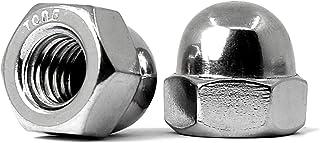 #10-24 Grade 2 Steel Zinc Plated Finish Acorn Nuts 50 pk.