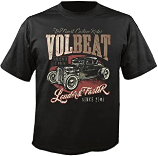 Volbeat Louder and Faster - T-Shirt