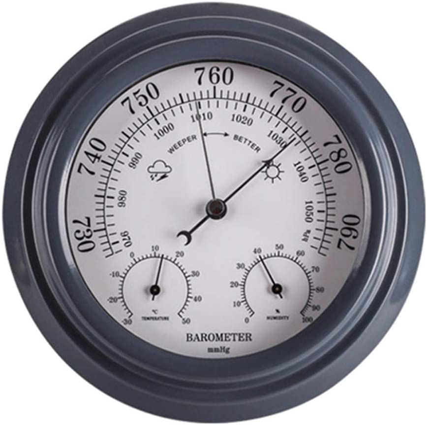 Rapid rise NFRADFM Barometer Thermometer Our shop OFFers the best service Hygrometer 3 H 1 Wall in