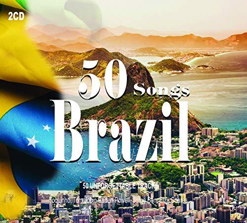 2CD 50 Songs Brazil, Musica Brasiliana, Toquinho, Stan Getz, Elza Soares, Samba