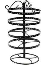 1989candy Detachable Earrings Jewelry Display Rack Rotating Stand Holder Black