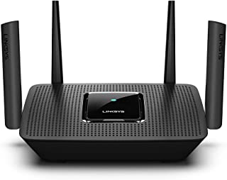 Linksys Tri-Band Mesh Wifi Router for Home (Max-Stream AC2200 MU-Mimo Wireless Mesh Router, Fast Wireless Router)
