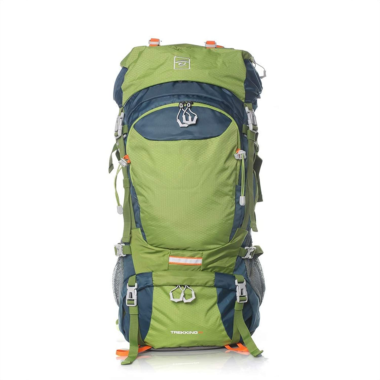 Giow Wandern Tasche Outdoor Bergsteigen Tasche groe kapazitt Rucksack mnner und Frauen reiserucksack Camping 70L Camping Rucksack Wanderruckscke (Farbe  C, gre  70L-31  17  63 cm)