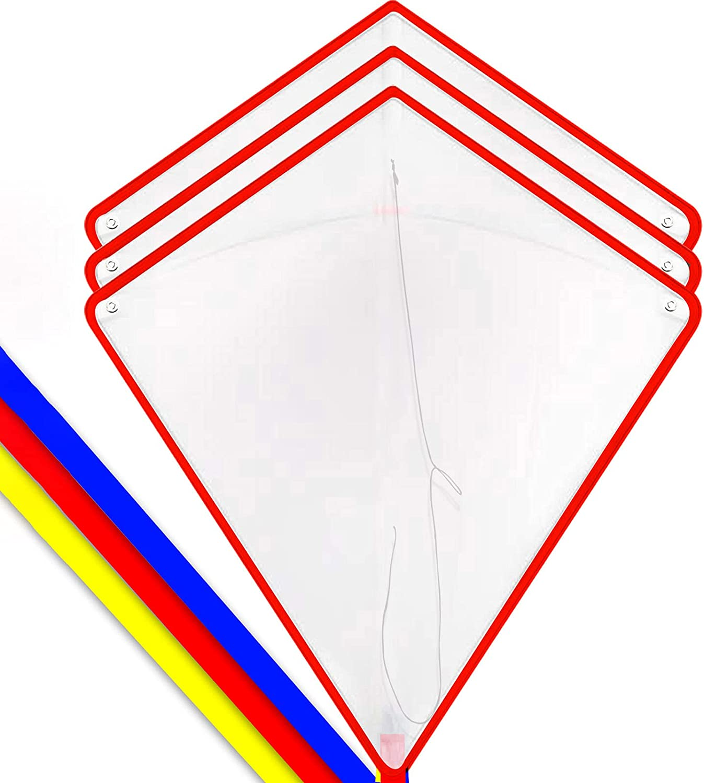 HENGDA KITE DIY Blank Painting Kite for Kids Kite Making Kit Bul