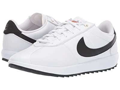 Nike Golf Cortez G (White/Black/Metallic Gold) Women
