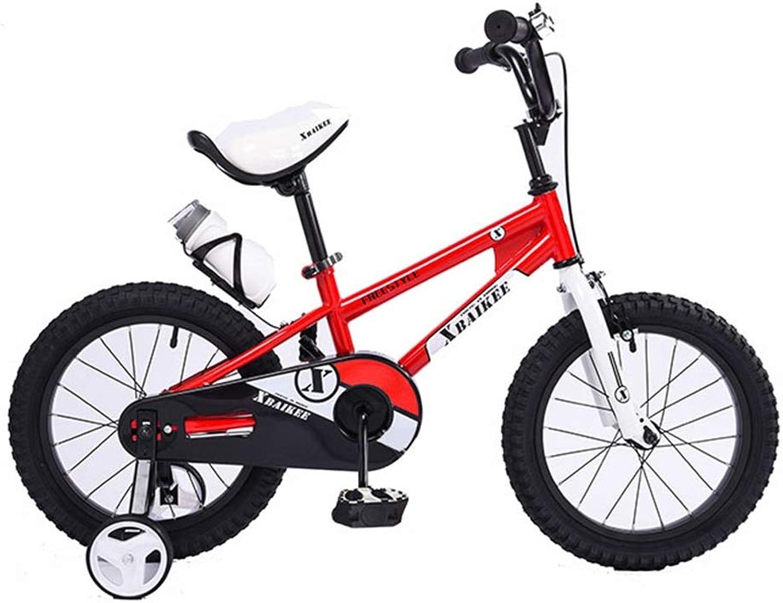 Blau Bikes rot Girl Bike Student Fahrrder 12,14,16 Zoll Fahrrad Outdoor Sports Fahrrad für Kinder 2-8 Jahre alt