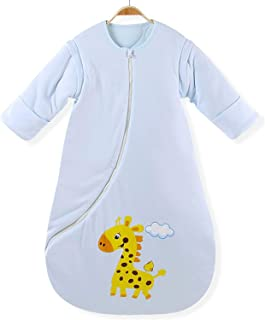 baby sleeping bag with sleeves and mittens