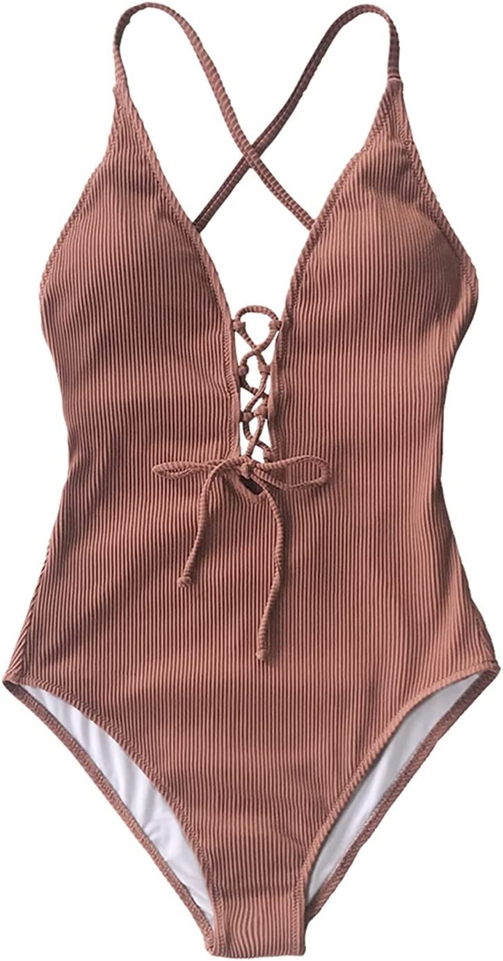 Washington Mall XUXUN Remind Me Solid One-Piece Swimsuit N V Deep Women 2021 autumn and winter new Backless