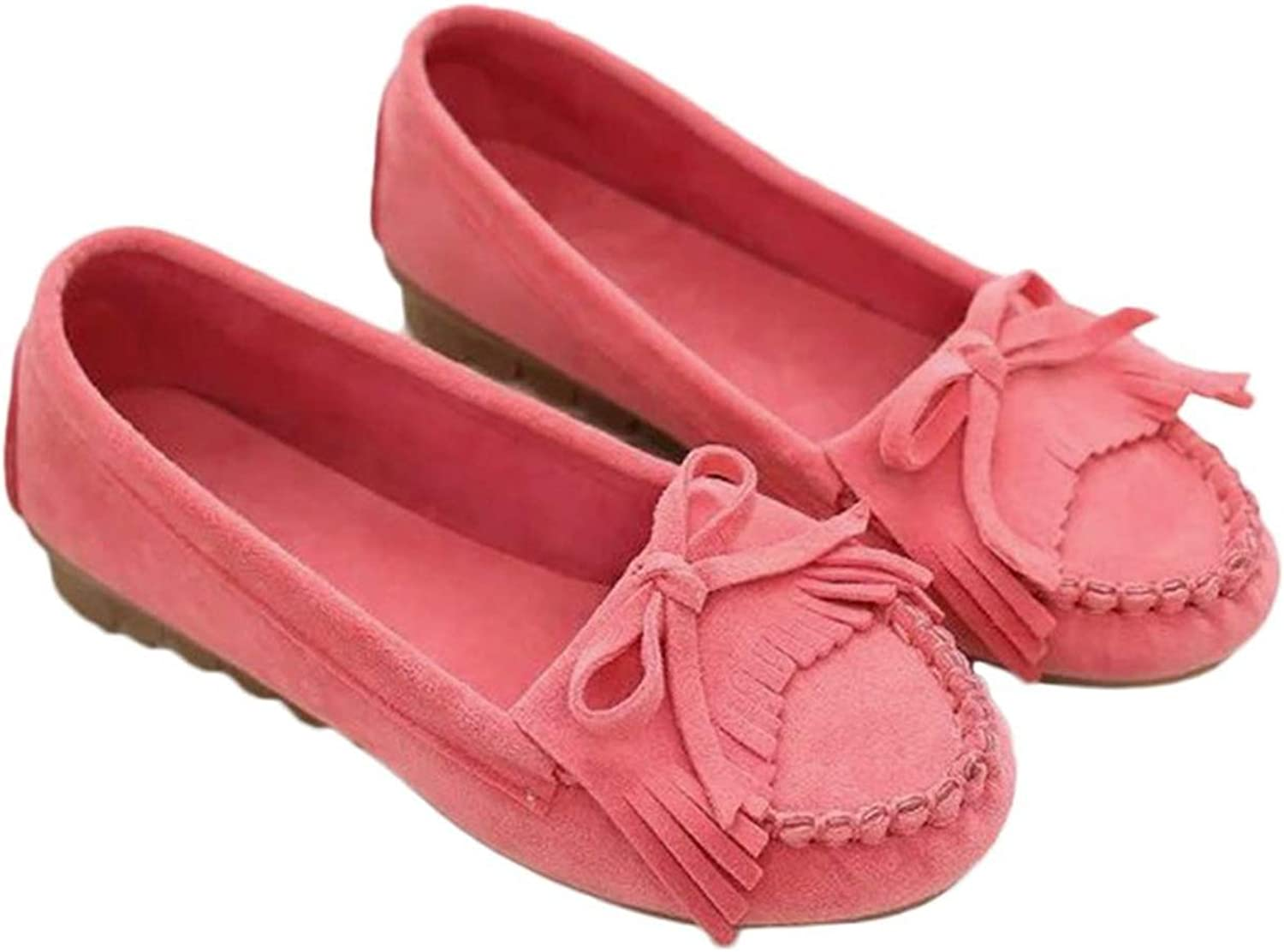 Spring Autumn Women Flat shoes Casual Round Head Tassel Anti-Slip Loafers Leisure