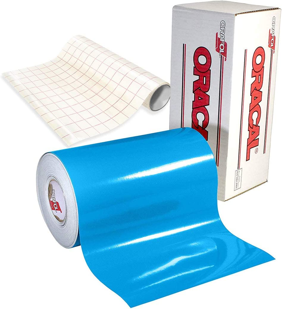 ORACAL Purchase 651 Gloss Sky Blue Adhesive Vinyl Craft Cricut Cameo Max 49% OFF for