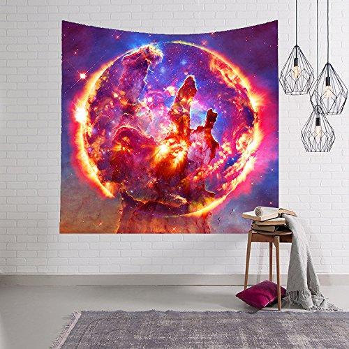 xkjymx Amazon Mejor Venta de tapicería de impresión Digital/Manta de Pared/Toalla de Playa Estrella Serie 4 150x130