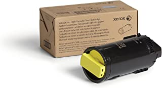 Genuine Xerox Yellow Extra High Capacity Toner Cartridge (106R03868) - 9,000 Pages for use in VersaLink C500/C505