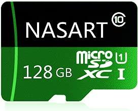 SANART 128GB Micro SD Card High Speed Class 10 Micro SDXC Flash Memory Card with SD Card Adapter