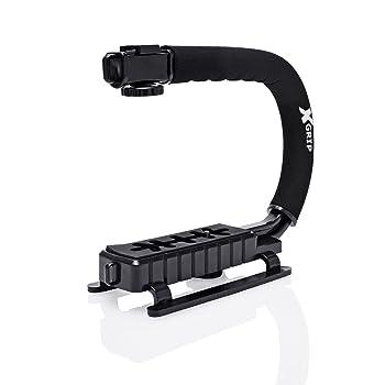Casio Exilim EX-Z50 Vertical Shoe Mount Stabilizer Handle Pro Video Stabilizing Handle Grip for