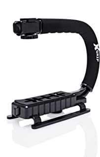 Opteka X-Grip Professional Camera/Camcorder Action Stabilizing Handle- Black