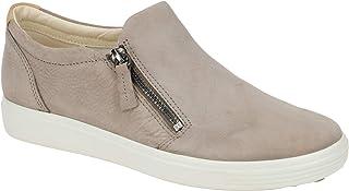 ECCO Women's Soft 7 Side-Zip Sneaker