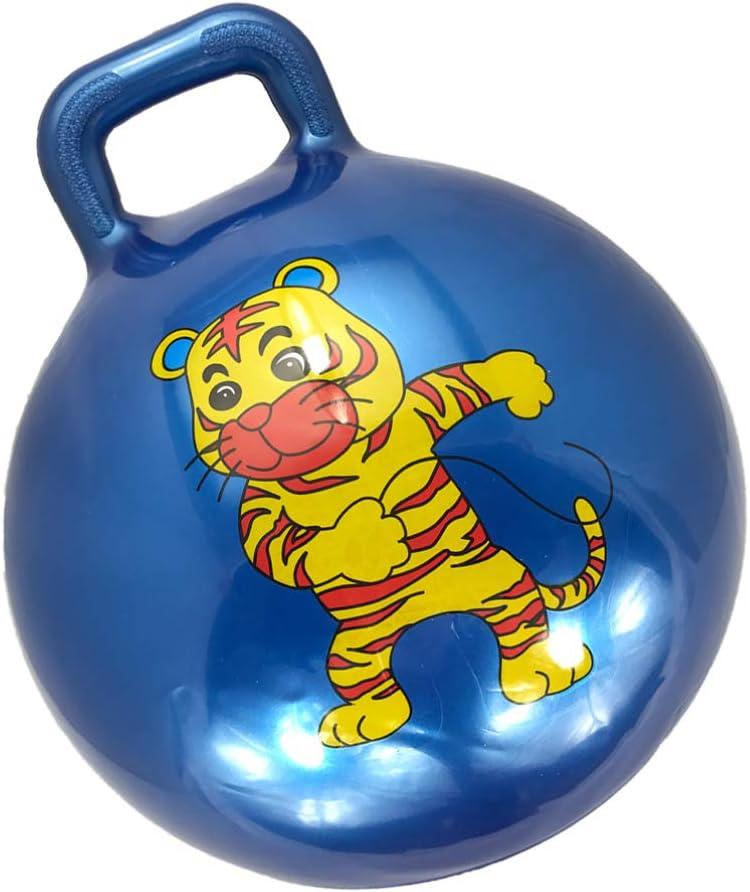 TOYANDONA Inflatable Hopper Ball Cartoon Animal Jumping Hopping