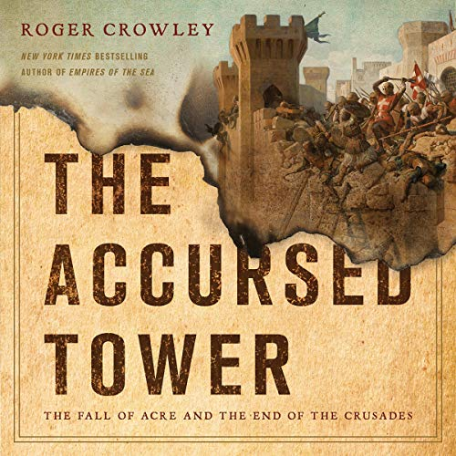The Accursed Tower audiobook cover art