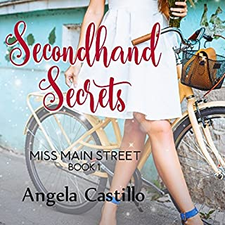 Secondhand Secrets audiobook cover art