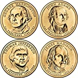 2007 P Complete Set of all 4 Presidential Dollars Uncirculated