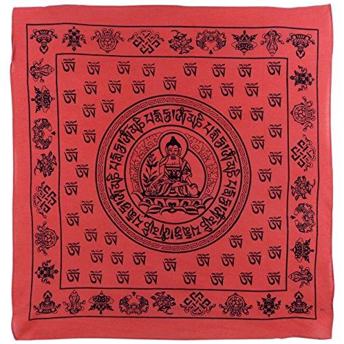 Asita Homewares Buddha Bandana Red