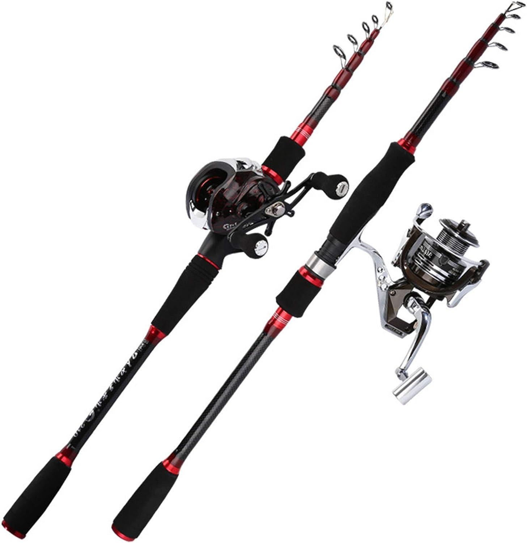 Lure Telescopic Over item handling ☆ Fishing Rod Spinning Ultralight Carp Colorado Springs Mall Carbon