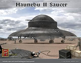 Pegasus Hobbies Haunebu II Saucer 1/144th Scale Model Kit