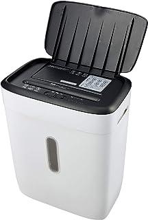 ボンサイ シュレッダー 業務用 家庭用 静音 電動 オートフィード コンパクト 自動細断 自動給紙 細断枚数75枚 細断時間10分間 親切8大機能搭載 大容量21L クロスカット カード細断 C231-A