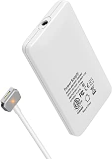 Wakeach 60w Ultra Thin Charger for MacBook Pro 13 inch Retina(Made After Late 2012), Replacement for 60W Magsafe 2 Power Adapter T tip A1425 A1435 A1465 A1502 Travel Portable Slim MBP Power Supply