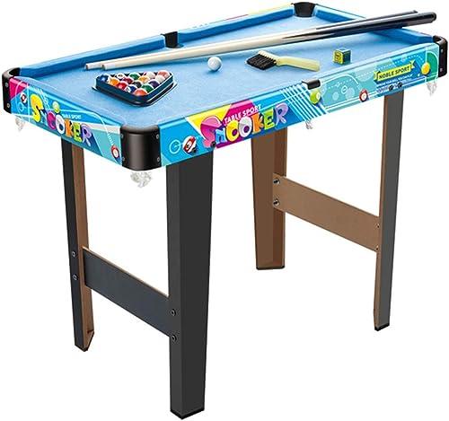 envío gratuito a nivel mundial Lcyy-game Mini Mesa de Billar Conjunto con con con triángulo, Bolas, Tacos, Tiza y azul Pincel  Hay más marcas de productos de alta calidad.
