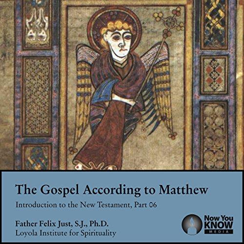 The Gospel According to Matthew audiobook cover art