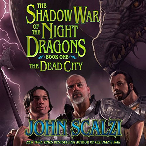 Shadow War of the Night Dragons, Book One: The Dead City: Prologue cover art