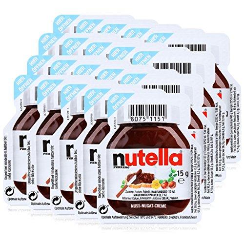 Porciones De Nutella 20 x 15 Gram