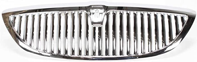 Grille Chrome Plactic Fiberglass For 2003-2011 Lincoln Lincoln Town Car