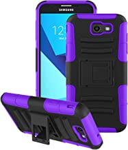 Aetech Phone Case for Samsung Galaxy J7 Prime/Galaxy J7 Sky Pro/Galaxy J7 V / J7 Perx/Galaxy Halo / J7 2017 Case, with Kickstand Stand Cover, Purple