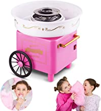 Countertop Cotton Candy Floss Maker Home Use Mini marshmallow machine Trolley Creative Gift Halloween Candy Machine Kit (p...