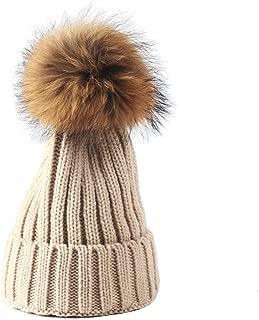Knitted Cozy Warm Winter Snowboarding Ski Hat with Pom Pom Slouchy Hat