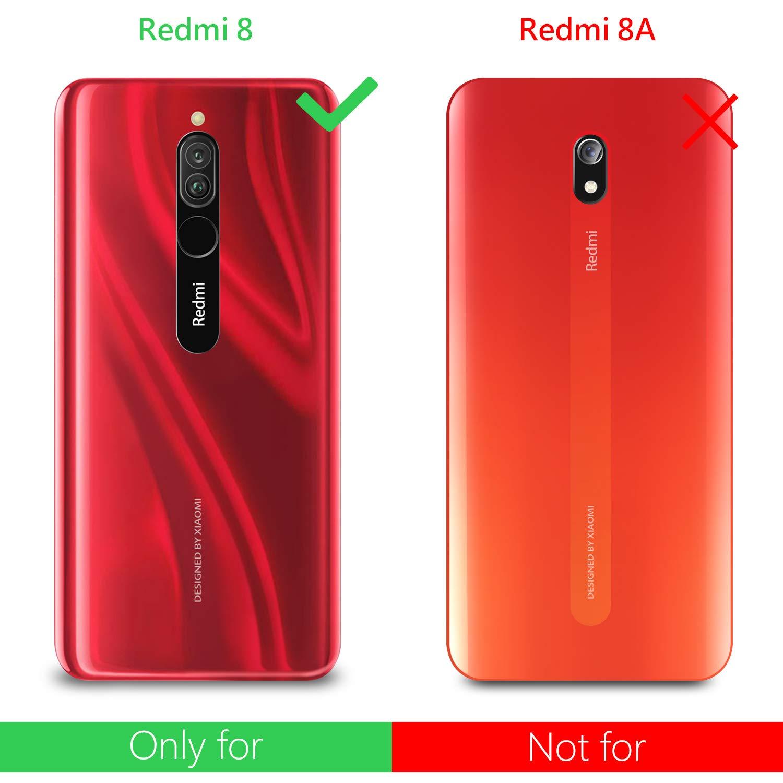AROYI [4-Pack Protector de Pantalla para Xiaomi Redmi 8, Cristal Templado para Xiaomi Redmi 8, Anti-Arañazos, Sin Burbujas, 9H Dureza: Amazon.es: Electrónica