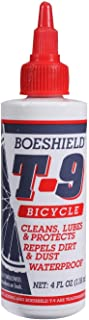 Boeshield T-9 Bicycle Chain Waterproof Lubricant and Rust Protection, 4 oz Liquid
