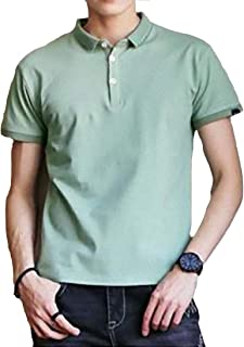 [ SmaidsxSmile(スマイズ スマイル) ] トップス ポロシャツ 半袖 無地 シンプル スポーティー 薄手 インナー メンズ