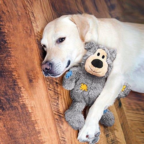 KONG - Wild Knots Bear - Juguete con Cuerdas antirrotura Perros de Raza Extragrande