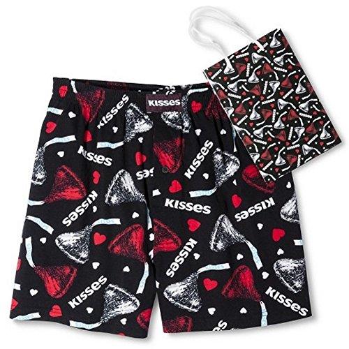 Hershey's Boxershorts met geschenkzakje, zwart kussen, voor tieners en volwassenen