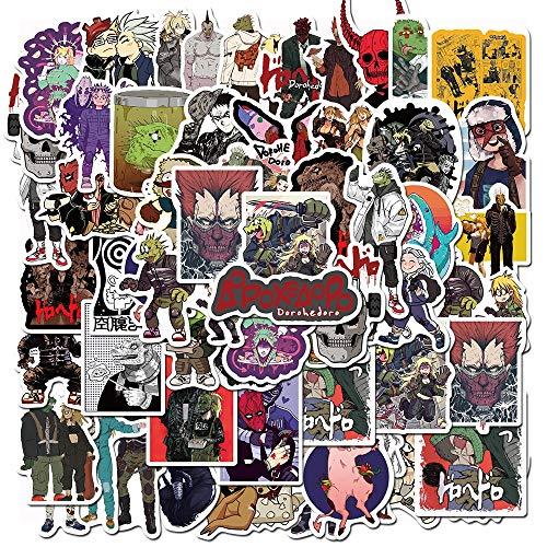 WYDML Dibujos animados monstruos extranjeros pegatinas cuaderno monopatín guitarra teléfono móvil coche nevera graffiti calcomanías niños juguetes 50 unids