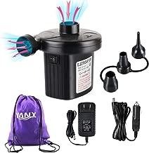 YANX Electric Air Pump, 2 in 1 Portable Air Mattress Pump Two-Way Universal Inflator..