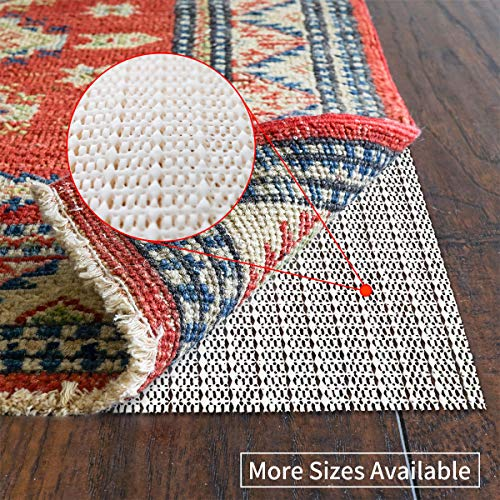 SHAREWIN 9x12 Non-Slip Area Rug Pad Gripper for Any Hard Surface Floors Keep Your Rugs Safe and in Place