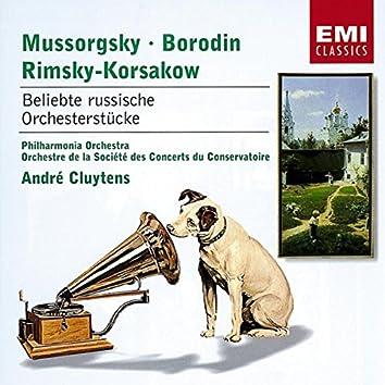 Borodin/Mussorgsky/Rimsky-Korssakoff: Russische Orchesterstuecke