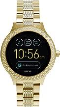 Fossil Q Women's Gen 3 Venture Stainless Steel Smartwatch, Color: Gold-Tone (Model: FTW6001)